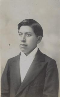 Unidentified male student #38, c.1890