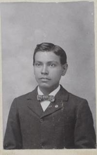 Unidentified male student #39, c.1890
