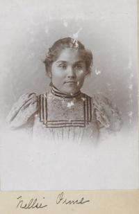 Nellie Orme, c.1896