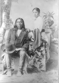 Little Raven and Anna Raven, c.1880