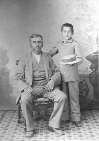 Baptiste Bayhylle and Louis Bayhylle, c.1882 [version2]