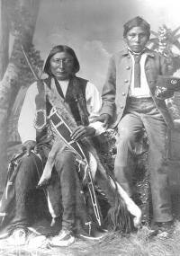 Chief Big Horse and Hubbell Big Horse, c.1880