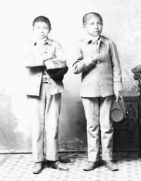 Marcellus Bezhahun and Clay Domieah [version 2], c.1887