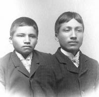 Louis Caswell and Benjamin Caswell, c.1890