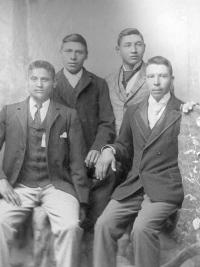 Peter Camp, Fox Belknap, Charles Knor, and William Ball, c.1891