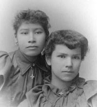 Anna McMillon and Mary Miller, c.1894