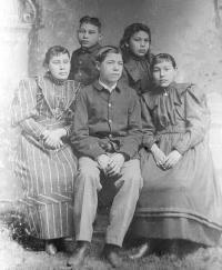 The King family, c.1894