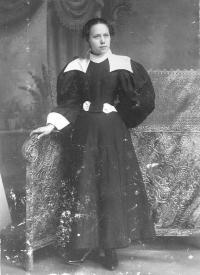 Mary Williams, c.1896