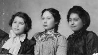 Elizabeth Terrance, and Charlotte Cook, and Charlotte Bigtree, c.1899