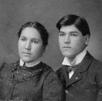 Daisy Wasson and George Wasson, c.1899