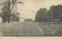 Campus and Tennis Courts, c.1908