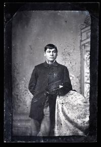 Arnold Woolworth, c.1882