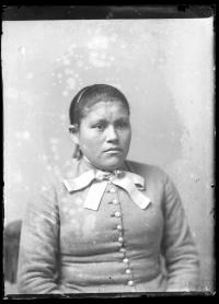 Unidentified Female Student, c.1885