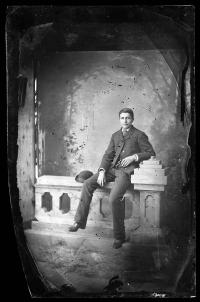 Unidentified Male Student, c.1885