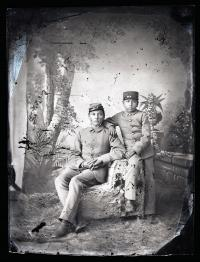 Two unidentified male students #4, c.1882