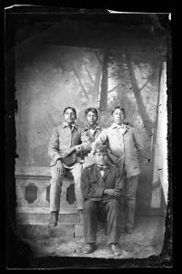 Group of Unidentified Students, c.1885