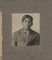 Unidentified Male Student