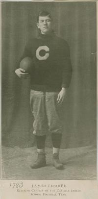James Thorpe in Football Uniform, #1
