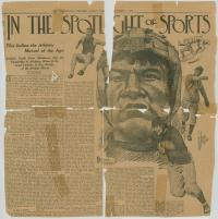 Jim Thorpe Athletic Sketches