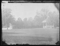 Teachers' Quarters and Band Stand, c.1883