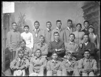 Nineteen Arapaho students [version 1], c.1890