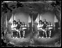 Three visiting chiefs, c. 1880