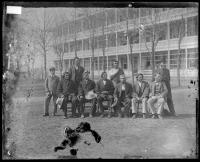 Visiting Sac and Fox chiefs [version 1], c.1880