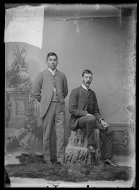 Paul Good Bear and Thomas W. Potter, c.1890