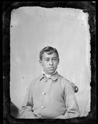 Unidentified male student #18, c.1880