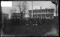 Twenty-five female students upon arrival [?], 1883