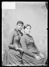 Julia Long and Lizzie Hill [version 1], c.1890