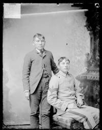 De Bett Cheynne Chief and Alexander Yellow Man, c.1884