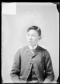 James Black Hawk, c.1885