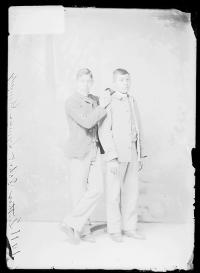 Luther Dah-hah and Lyman Kennedy, c.1889