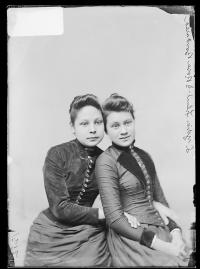 Rosa Bourassa and Lydia Flint [version 1], c.1890
