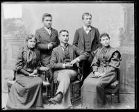 Edward Marsden and four other Alaskan students [version 1], 1893