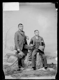 Ralph Naltuey and Lucius Bird, c.1890