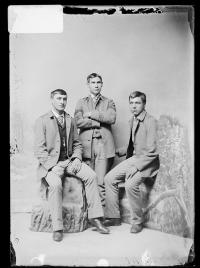 Joseph H. Hamilton, Robert Hamilton, and Anthony Austin, c.1891
