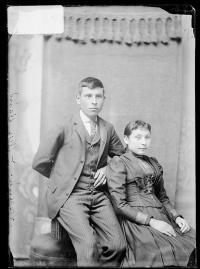 William and Angelina Baird, c.1889