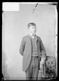 Unidentified male student #19, 1888