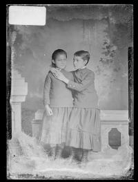 Emily Ross and Ella Ross, c.1883