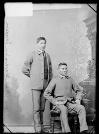 William Morgan and Kish Hawkins, c.1887