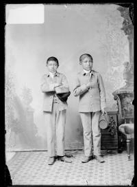 Marcellus Bezhahun and Clay Domieah [version 1], c.1887