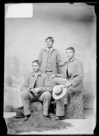George Ell, Philip Lavatta, and Charles Buck, c.1890
