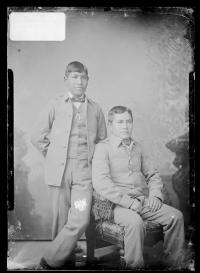 Oconame Howerame and John Nori, 1886