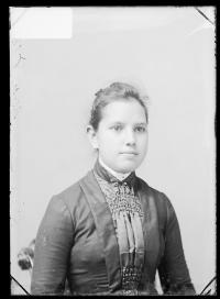 Eva Johnson, c.1888