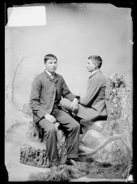 William Ellis and George Ell, c.1890
