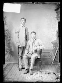 Stacy Matlock and William Morgan [version 1], c.1885