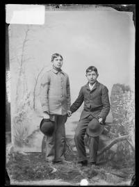Solomon Collins and Francis Goulche, c.1892