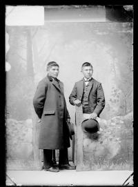 Laban Locojim and Stephen Smith, c.1890